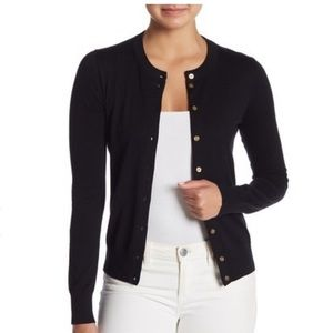 J. Crew | The Caryn Cardiagn Black
